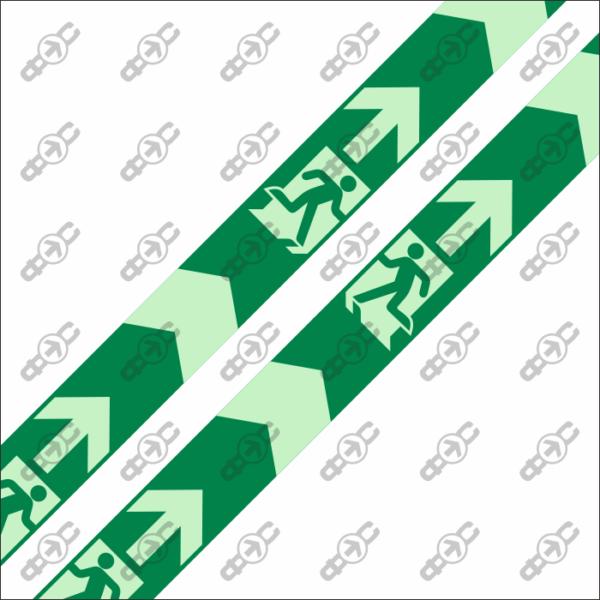 Фотолюминесцентная лента с защитным слоем EM-10
