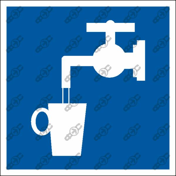 Знак D02 — Питьевая вода
