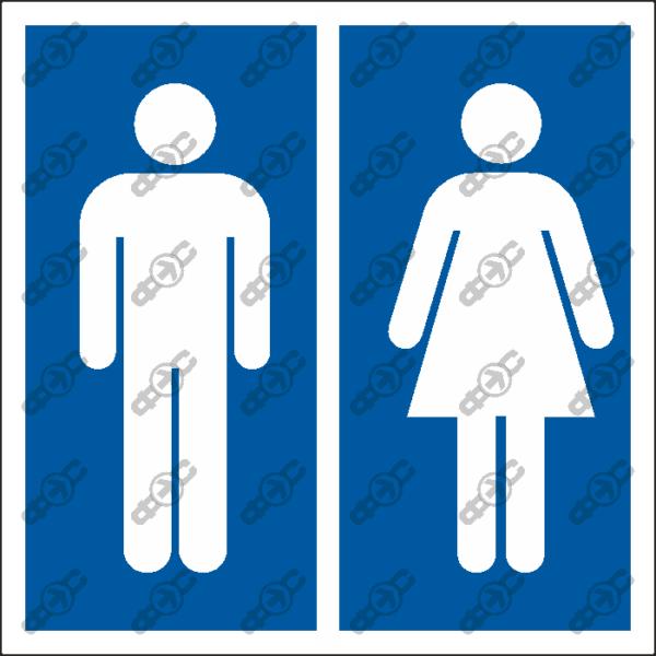 Знак D08 - Туалеты
