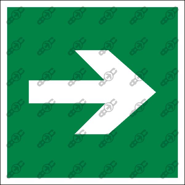 Знак E02-01 - направляющая стрелка