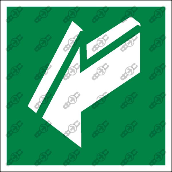 Знак E19 - открывать движением на себя