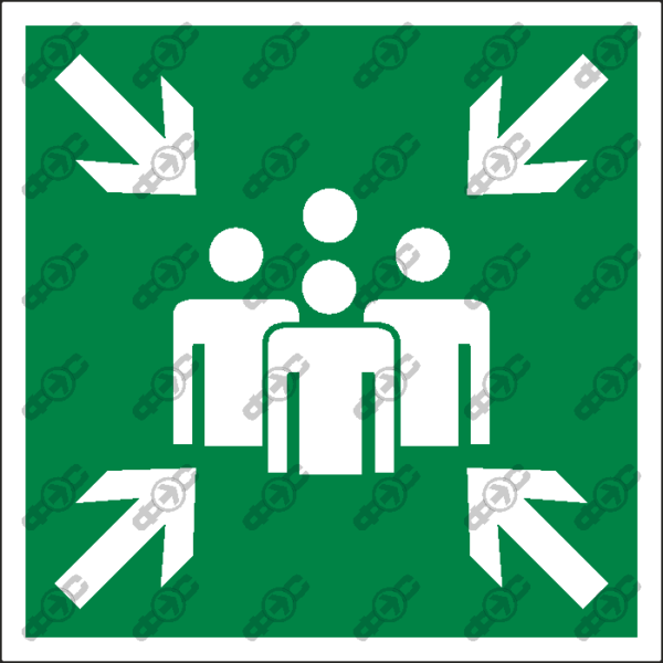 Знак E21 - пункт (место) сбора