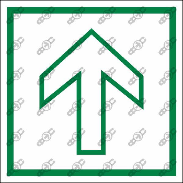 Знак E27 - Направляющая стрелка