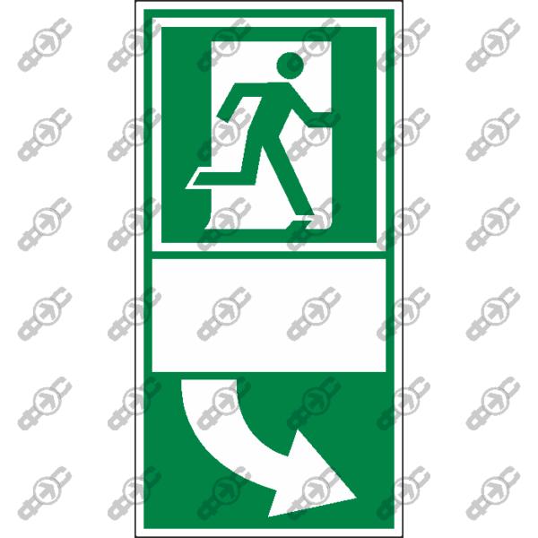 Знак E29 - Для выхода нажать на ручку двери слева
