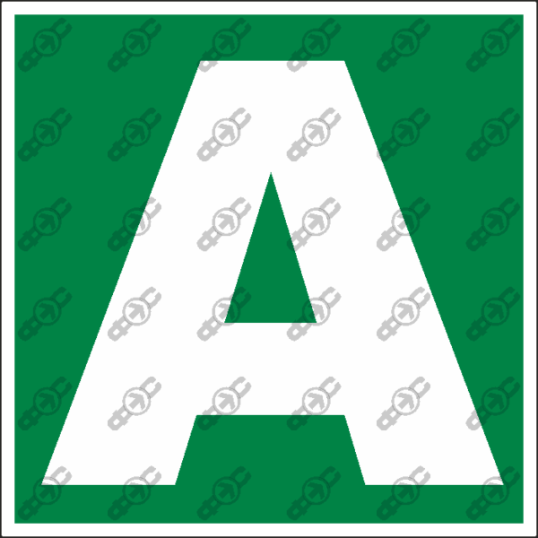 Знак E40 - A