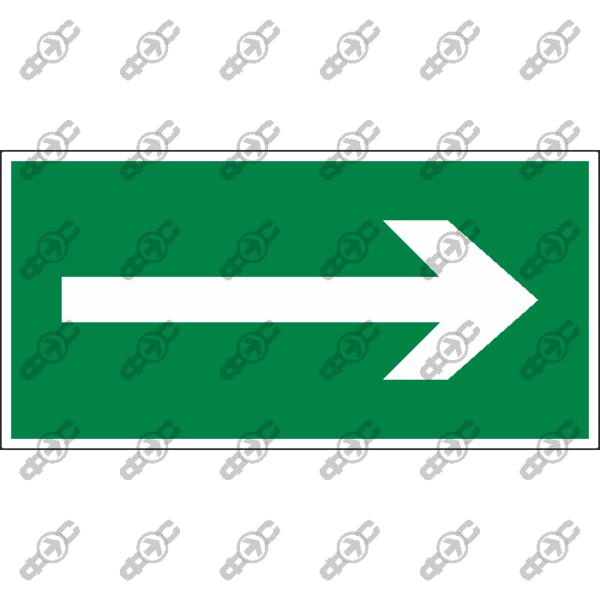 Знак E49 - Направляющая стрелка вправо