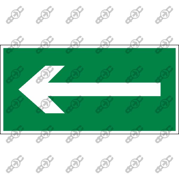 Знак E50 - Направляющая стрелка влево