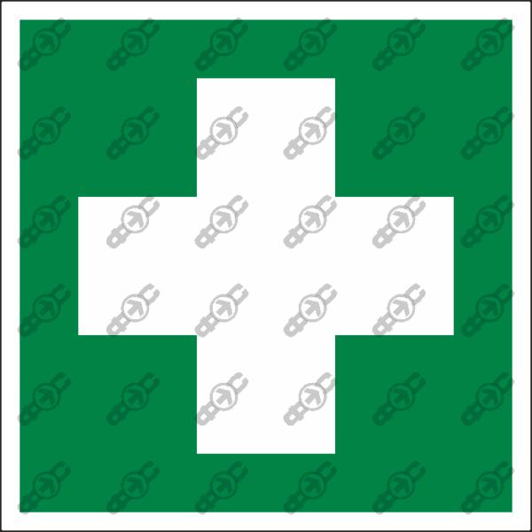 Знак EC01 - Аптечка