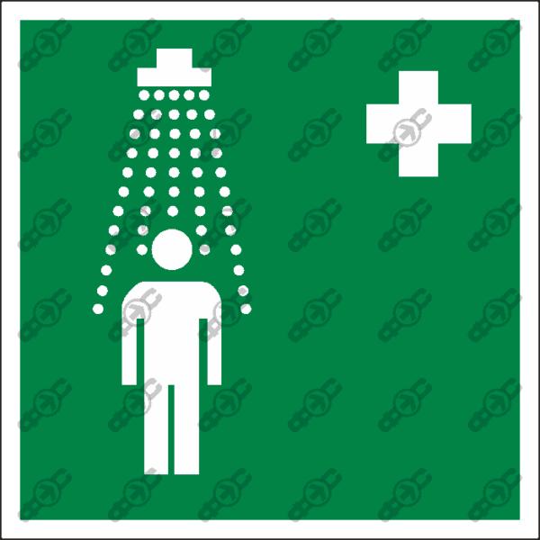 Знак EC03 - пункт приема гигиенических процедур (душевые)