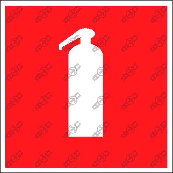 Знак F04 - огнетушитель