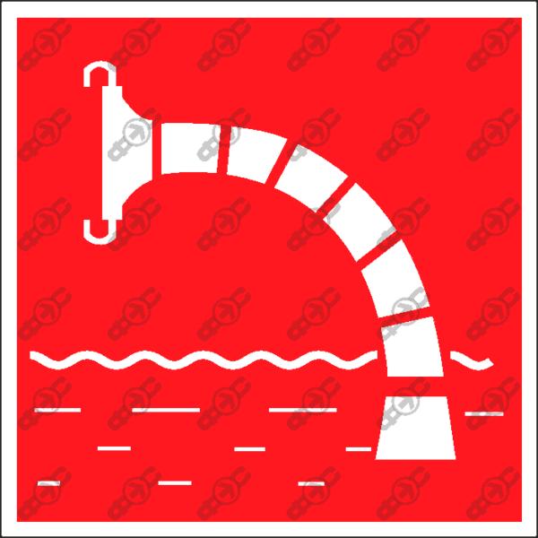 Знак F07 - пожарный водоисточник