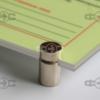 Фотолюминесцентная инструкция в оргстекле с держателями