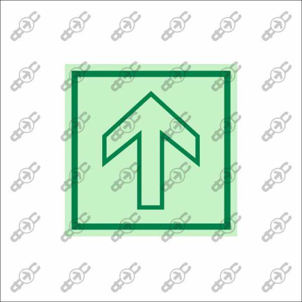 Фотолюминесцентный знак с защитным слоем EМ-17