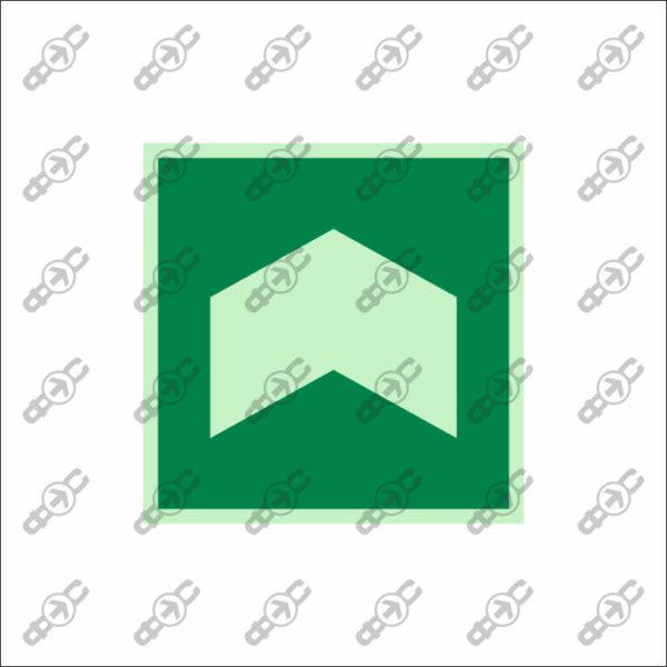 Фотолюминесцентный знак с защитным слоем EМ-21