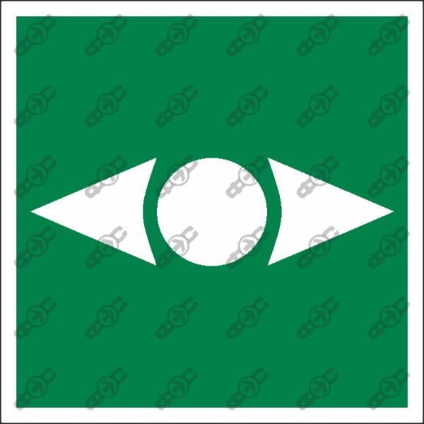 Знак E56 - Кнопка разблокировки дверей
