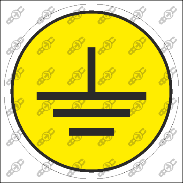 Знак EL65 - Заземление