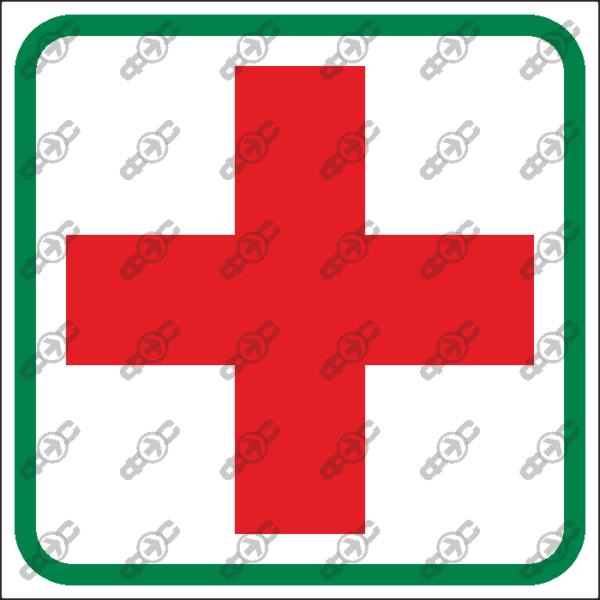 Знак T08 — Место хранения аптечки первой медицинской помощи